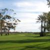 A view of a fairway at Ocean Golf Club