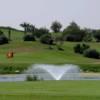 A view of a hole at Ocean Golf Club