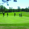 A view of a green at Proctor Golf Course