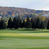 View of a green at Seven Oaks Golf Club
