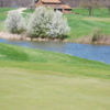 View of a green at Boone Links Golf Course