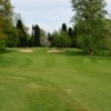 The approach to the 14th at Kidderminster Golf Club