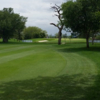 A view of a fairway at Volksrust Golf Club