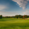 The expansive 12th green at Waltham Windmill GC
