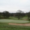 The 18th green on the Chesterton Valley Golf Course