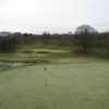 The 1st green at Chesterton Valley Golf Course
