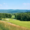 View of the 1st green from the Mountainview course at Lakeview Golf Resort & Spa