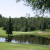 View of the 6th hole at Lacombe Golf and Country Club