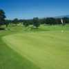 View of the 18th green at Glenbervie Golf Club