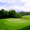 A view of the 15th green at Waterfall Golf Club