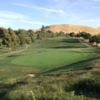 A view of green #3 at Lone Tree Golf Course