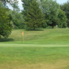 A view of the 1st green at Colfax Country Club