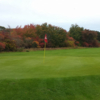 A fall view of a hole at Harwich Port Golf Club