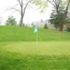 A view of the 13th hole at Beaver Bend Par 3