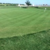 A view of the practice putting green at Birdee's Golf Center