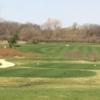 A view of a tee at Savannah Oaks Golf Club of Candlewick Lake