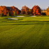 A fall view of a fairway at Challenge Course from The Club at SpurWing