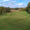 A view from a fairway at King Rail Reserve Golf Course