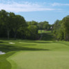 A view of a hole at Aronimink Golf Club