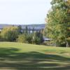 A view of a green at Madeline Island Golf Club