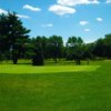 A view of a green at Detroit Golf Club