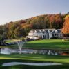 A view of a hole at Panther Valley Golf & Country Club