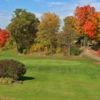 View of a green from the West at Warren Valley Golf Course