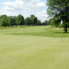 Looking back from a green at Windmill Lakes Golf Club