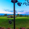The triple tee 9,14,17 at Mohegan Sun Golf Club
