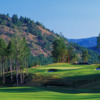 View of the 15th green from the Mountain Course at Bear Mountain Golf and Country Club