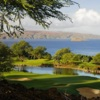 View of the 10th hole from the Emerald Course at Wailea Golf Club