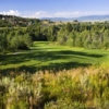 A view of a tee at Rollingstone Ranch Golf Club