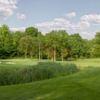 A view of green #2 at Sterling Farms Golf Course