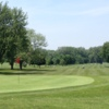 Looking back from a green at Delaware Park Course