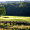A view of a hole at Bedford Springs Old Golf Course