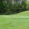 A view of a tee from Hill Nine at Silver Creek Country Club