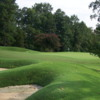 A view of a hole at Country Club of Spartanburg