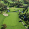 Aerial view of the 1st hole from the Brute course at Grand Geneva Resort & Spa