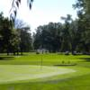 A view of green #2 at Monroe Golf & Country Club