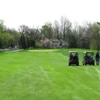 A spring view of a fairway at Highlands Golf Club