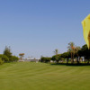 A view from a green at Real Club de Golf Sotogrande
