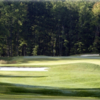 A view of green #16 at Fawn Lake Country Club