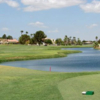 A view from a tee at Mesa Del Sol Golf Course