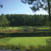 A view of a tee at Mid South Club