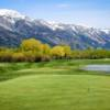 A view from a tee at Teton Pines Country Club & Resort