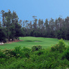 A view of the 2nd hole at Oaks Golf Club