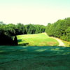 A view from tee #17 at Towne Lake Hills Golf Club