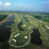 Aerial view from Tunica National Golf and Tennis
