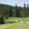 A view from a tee at Gozzer Ranch Golf & Lake Club