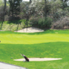 A view of a green at Oyster Bay Town Golf Course